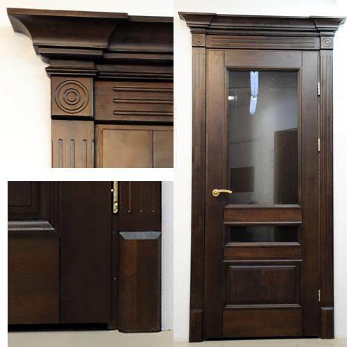 портал для двери из массива фото