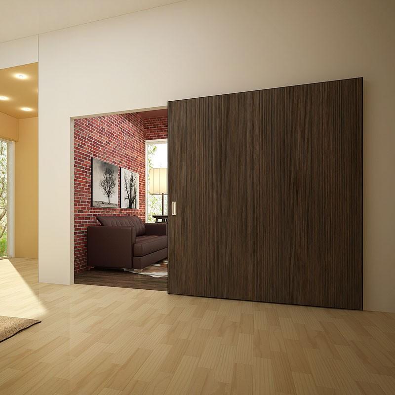 большая раздвижная дверь перегородка