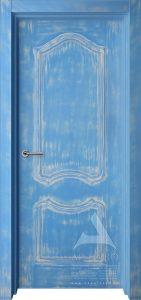 дверь в стиле лофт состаренная