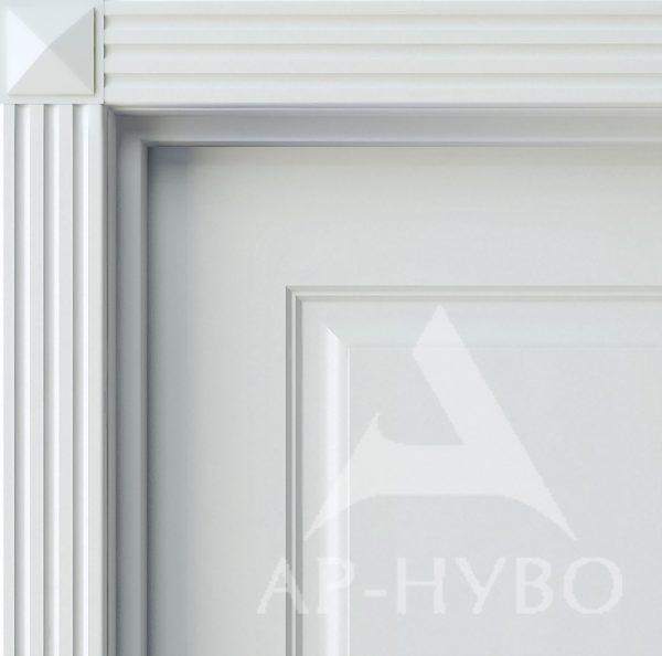 декоративный элемент двери - розетка пирамидка