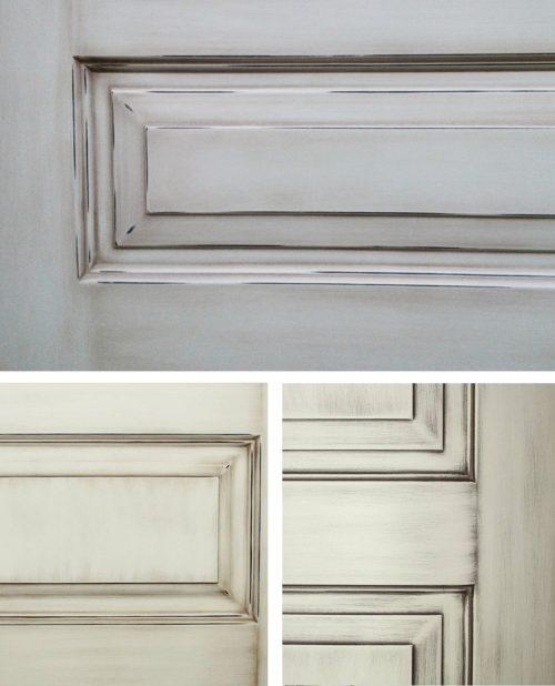 эффект старения фрагмент двери