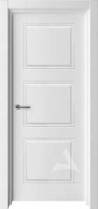 белая межкомнатная дверь модель трио 4