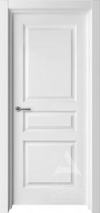 белая межкомнатная дверь турин 1