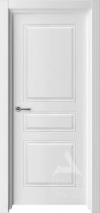 белая межкомнатная дверь модель турин 4