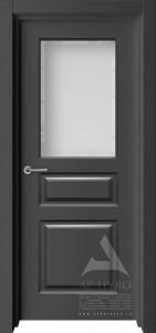 дверь турин темная со стеклом
