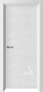 белая дверь для современного интерьера